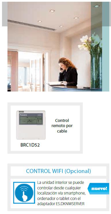 Conductos Daikin ADEQS71B8